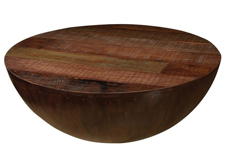 Awesome Series Of Solid Round Coffee Tables With Regard To Wood Round Coffee Tables Jerichomafjarproject (Image 3 of 40)