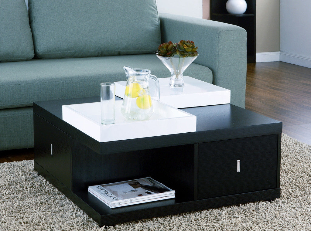 Awesome Series Of Square Storage Coffee Tables Regarding Modern Square Coffee Table With Storage Square Coffee Table With (View 44 of 50)