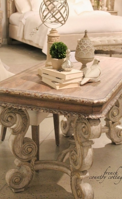 Awesome Series Of White Cottage Style Coffee Tables Throughout White Cottage Style Coffee Tables Wd (Image 12 of 50)