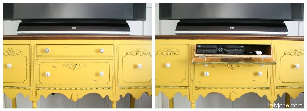 Awesome Series Of Yellow TV Stands Within Mustard Yellow Buffet (View 16 of 50)