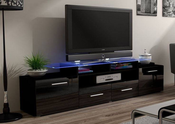 Awesome Top Black TV Cabinets Pertaining To The 25 Best Black Tv Cabinet Ideas On Pinterest My Photo (Image 5 of 50)