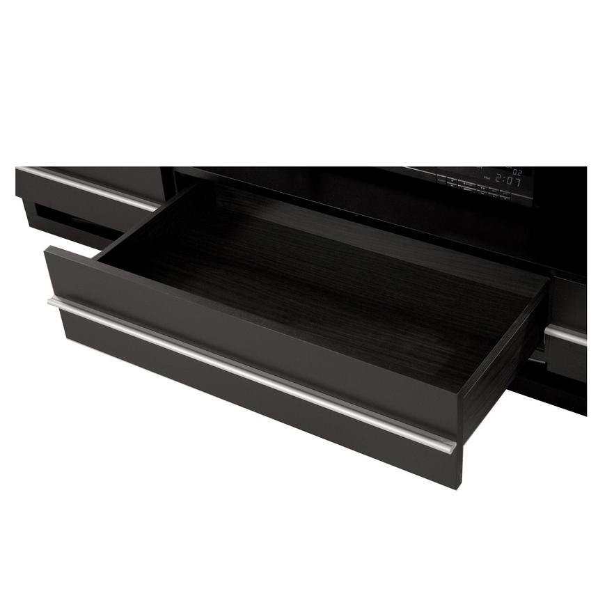 Awesome Top Dark Wood TV Stands Inside Avanti Dark Oak Tv Stand El Dorado Furniture (Image 8 of 50)