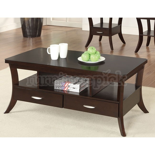 Awesome Top Espresso Coffee Tables In Table Espresso Coffee Tables Home Interior Design (Image 3 of 50)