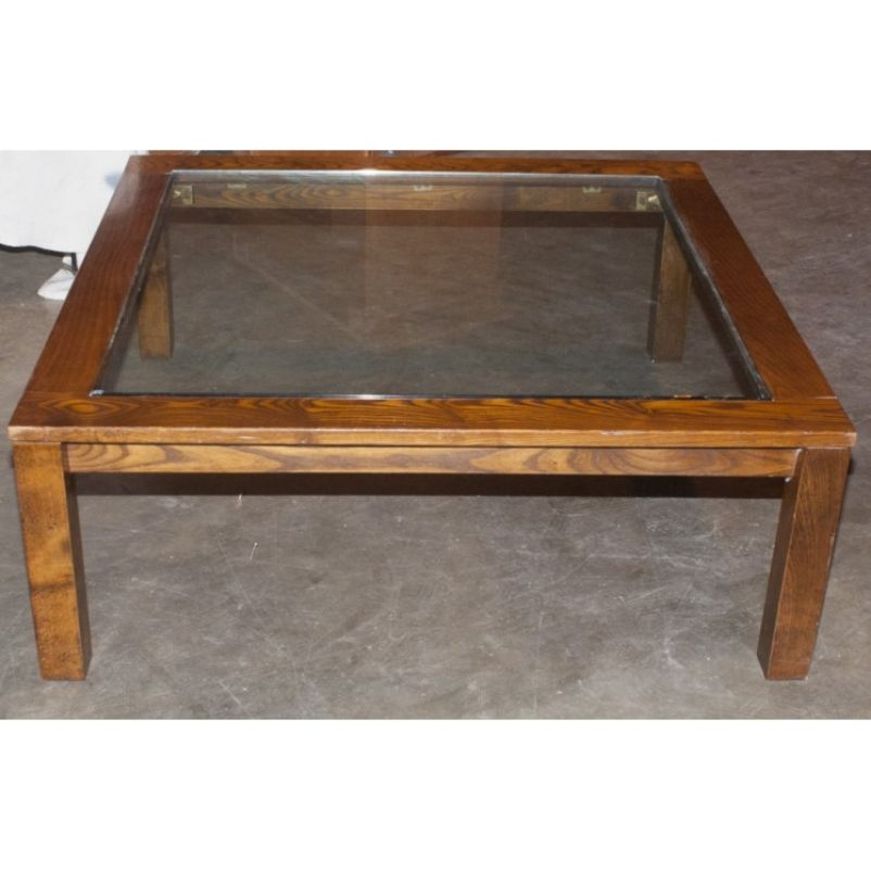 Awesome Top Large Square Glass Coffee Tables Within Large Square Glass Top Coffee Table My Web Value (Image 8 of 50)