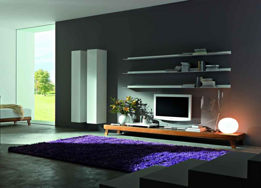 Awesome Top Large White TV Stands Throughout Living Room Contemporary Tv Stand Design Ideas For Living Room (View 41 of 50)