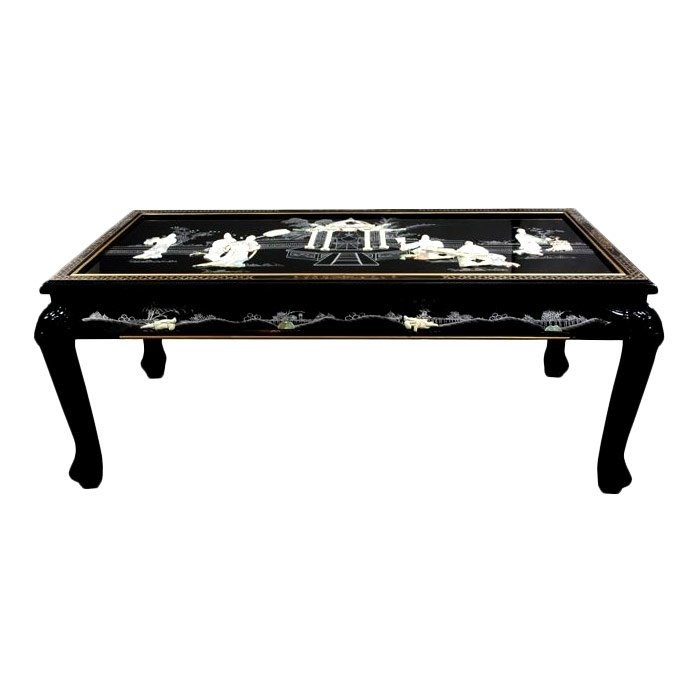 Awesome Top Mother Of Pearl Coffee Tables With Oriental Furniture Mother Of Pearl Coffee Table With Claw Feet (View 21 of 50)