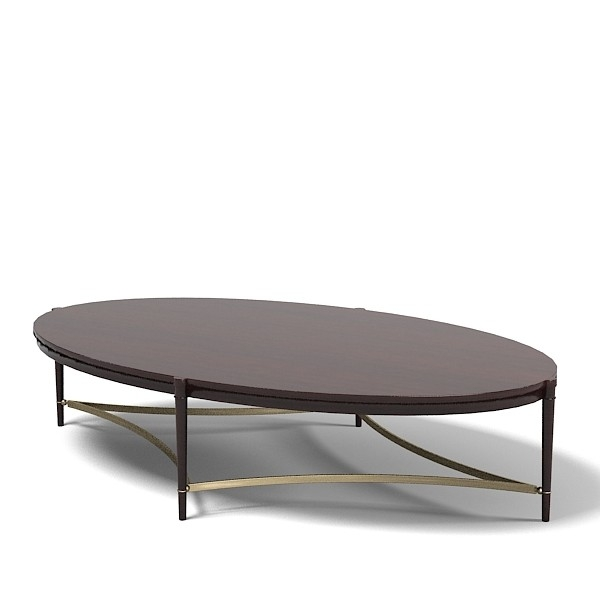Awesome Top Oblong Coffee Tables Within Modern Oval Coffee Table Table And Estate (Image 9 of 40)