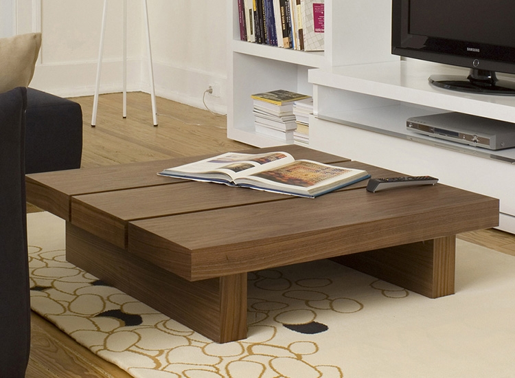 Awesome Top Square Oak Coffee Tables Regarding Large Square Oak Coffee Table Large Square Coffee Table For The (Image 5 of 50)