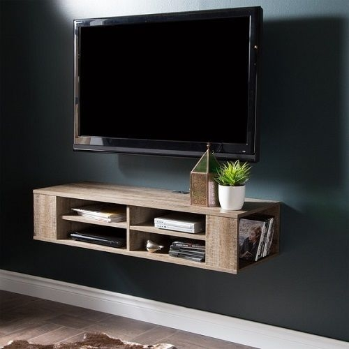 Awesome Top Wall Mounted TV Stands With Shelves Pertaining To 25 Best Tv Und Media Aufbewahrung Ideas On Pinterest Tv Und (Image 6 of 50)
