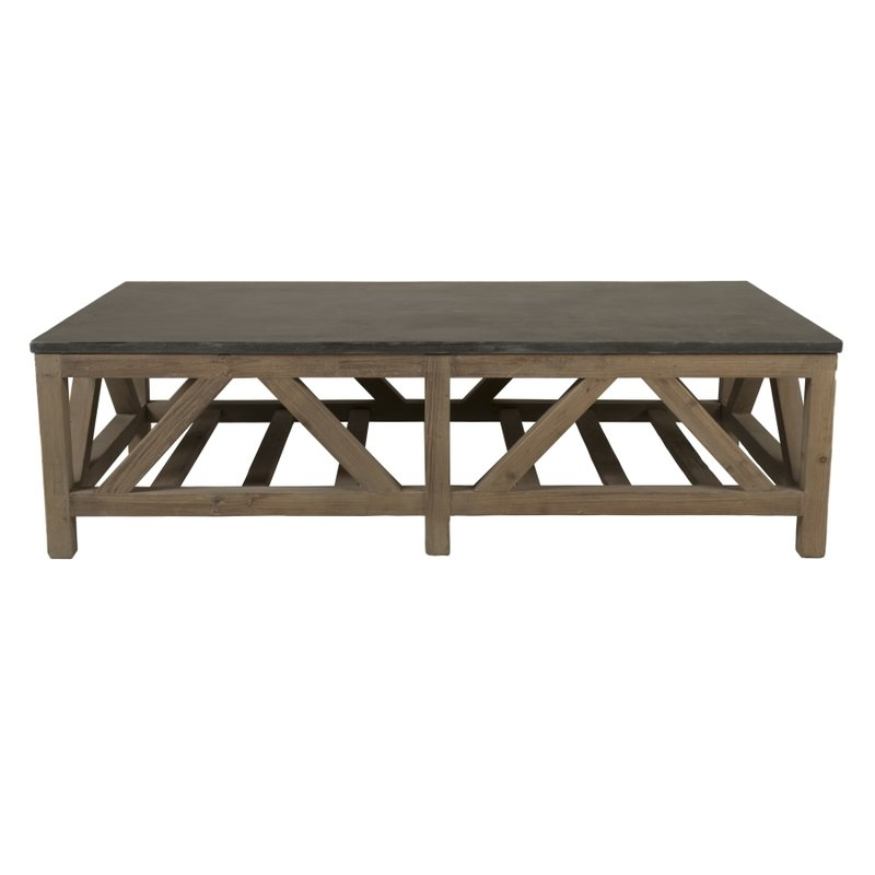 Awesome Top Wayfair Coffee Tables With Orient Express Furniture Blue Stone Coffee Table Reviews Wayfair (Image 11 of 40)