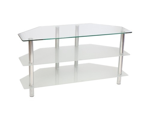 Awesome Top White Glass TV Stands In Febland Glass Top Tv Stand Furniture Value (Image 10 of 50)
