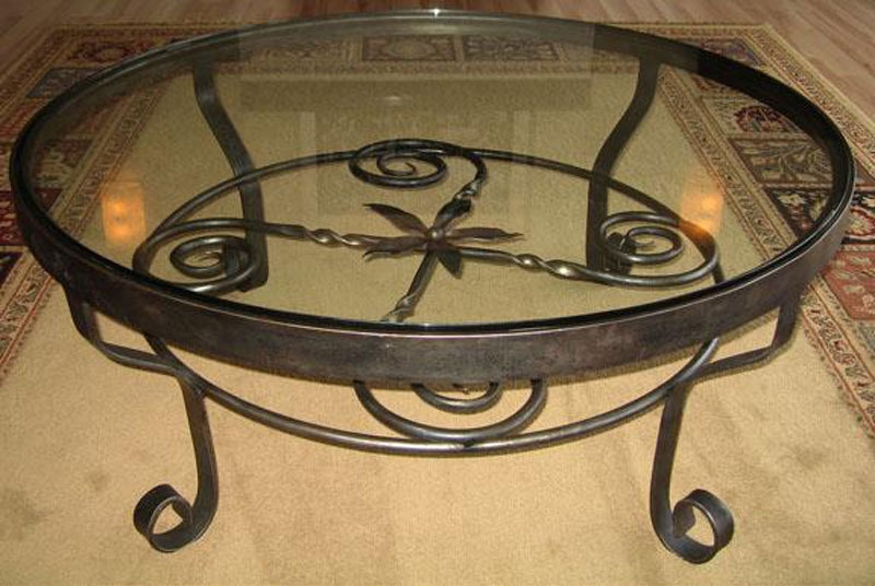 Awesome Top Wrought Iron Coffee Tables Intended For Wrought Iron Coffee Table Design Images Photos Pictures (Image 7 of 50)