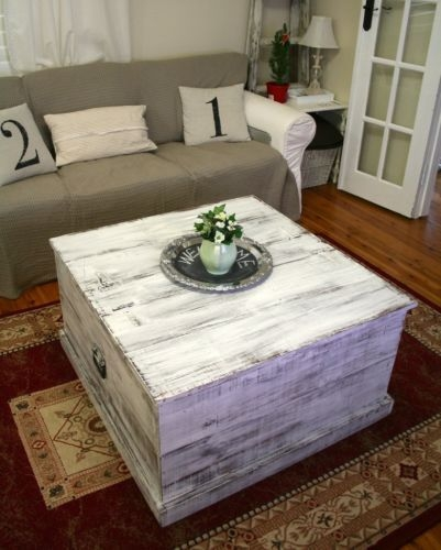 Awesome Trendy Blanket Box Coffee Tables Regarding Wide Designs Of White Coffee Table With Storage Homesfeed (Image 6 of 50)