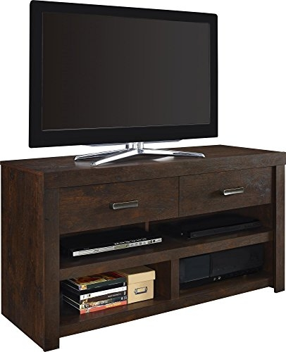Awesome Trendy Dark Walnut TV Stands With Regard To Amazon Altra Westbrook 42 Tv Stand Dark Walnut Kitchen (Image 8 of 50)