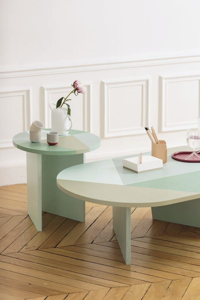 Awesome Trendy Elise Coffee Tables Intended For Contemporary Coffee Table Lacquered Wood Mdf Oval Elise (View 14 of 40)