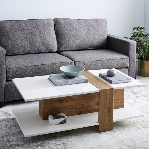 Awesome Trendy Lacquer Coffee Tables In Rustic Lacquer Coffee Table West Elm (Image 10 of 40)