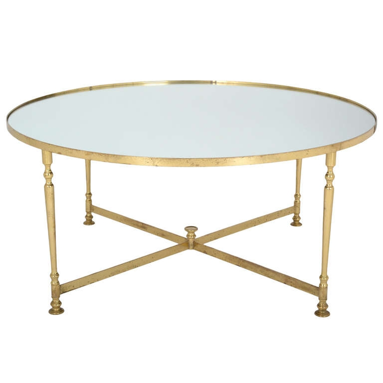 Awesome Trendy Range Coffee Tables Pertaining To Coffee Table French Vintage Round Brass Coffee Table Round Brass (Image 4 of 50)