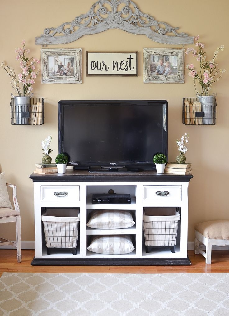 Awesome Trendy Rustic Looking TV Stands In Best 25 Tv Stand Makeover Ideas Only On Pinterest Dresser Tv (Image 8 of 50)