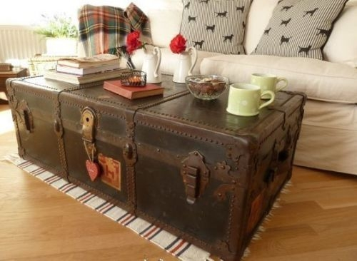 Awesome Trendy Trunks Coffee Tables Within 1967 Best Chests Trunks Coffee Tables Images On Pinterest (Image 4 of 40)