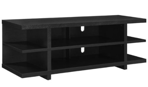 Awesome Trendy TV Stands With Back Panel Within Altra Tv Stands Altra Espresso 60 Inch Hollow Core Tv Stand To (Image 9 of 50)