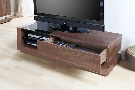 Awesome Trendy Walnut TV Stands Regarding Jual Cube Walnut Tv Stand Jf613 Oak Furniture Solutions (View 41 of 50)