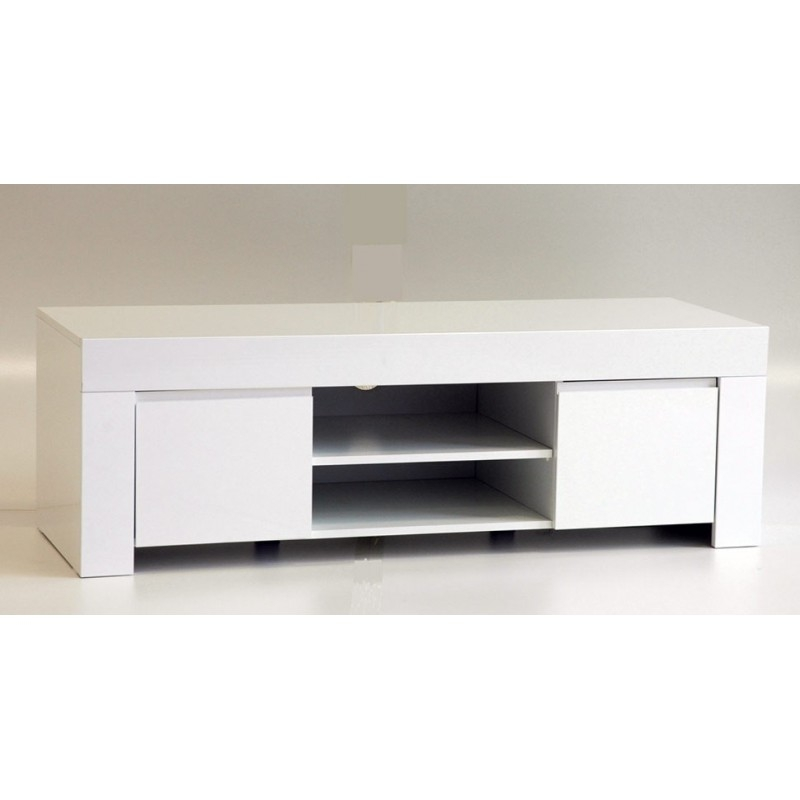 Awesome Unique Cream Gloss TV Stands Pertaining To White Black Gloss Tv Units Stands And Cabinets Sena Home (Image 7 of 50)