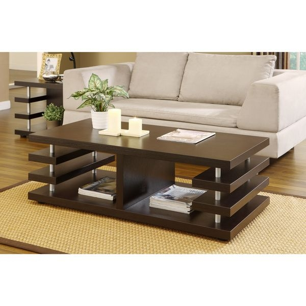 Awesome Unique Espresso Coffee Tables Throughout Best 25 Espresso Coffee Table Ideas Only On Pinterest Pallet (Image 4 of 50)