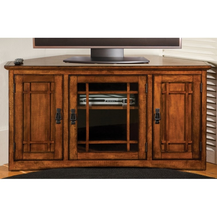Awesome Unique Oak TV Cabinets With Doors Pertaining To Bedroom Varnished Oak Wood Tv Stand Decorated With Carved Doors (Image 12 of 50)
