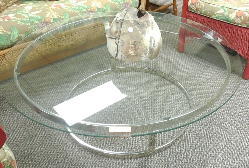 Awesome Unique Round Chrome Coffee Tables Pertaining To Upscale Coffee Tables (Image 5 of 50)