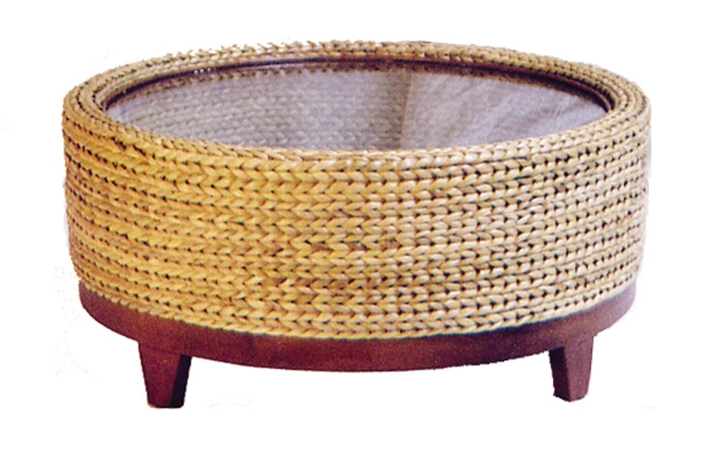 Awesome Unique Round Woven Coffee Tables Regarding Awesome Seagrass Round Coffee Table Coffee Table Furniture (Image 8 of 50)