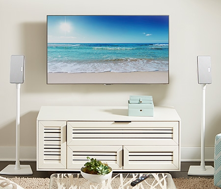 Awesome Unique Sonos TV Stands In Sanus 1 Brand Of Tv Wall Mounts In The Us (View 41 of 50)