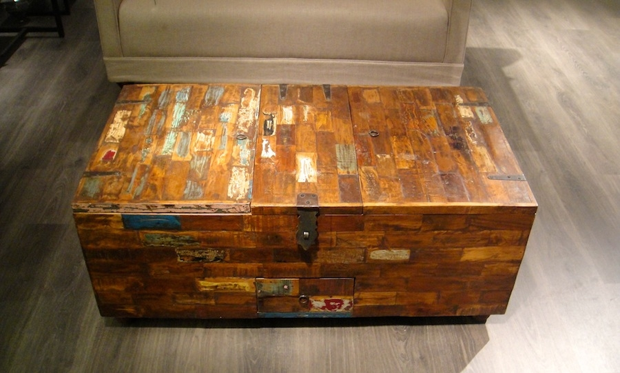 Awesome Unique Trunk Chest Coffee Tables Pertaining To Trunk Coffee Table Creating A Life Vintage Trunk Coffee Table (View 37 of 50)