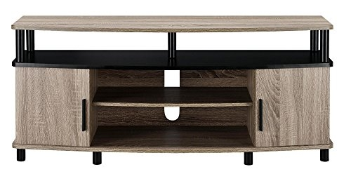 Awesome Unique TV Stands For 50 Inch TVs Within Amazon Ameriwood Home Carson Tv Stand For 50 Inch Tvs Sonoma (Image 7 of 50)