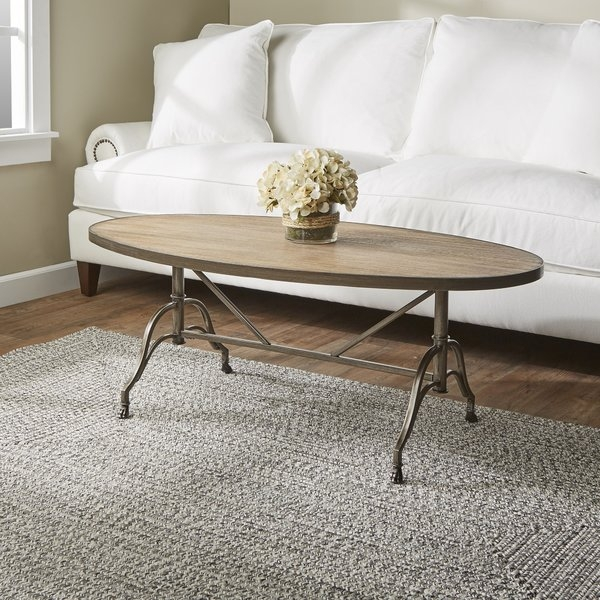 Awesome Variety Of Aiden Coffee Tables With Regard To Oval Coffee Tables Joss Main (View 36 of 50)