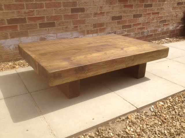 Awesome Variety Of Chunky Wood Coffee Tables With Reclaimed Coffee Tables (Image 8 of 50)