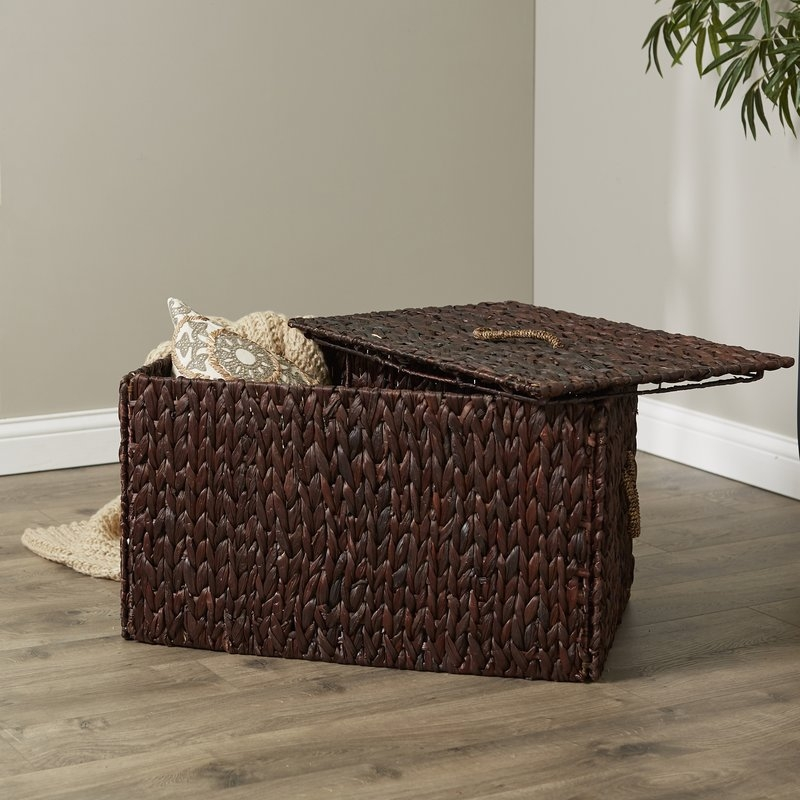 Awesome Variety Of Coffee Table With Wicker Basket Storage In Birch Lane Wicker Storage Trunk Reviews Wayfair (Image 7 of 40)