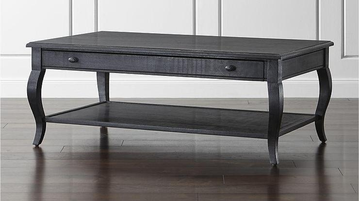 Awesome Variety Of Curve Coffee Tables Pertaining To Blcak Coffee Table (Image 7 of 50)