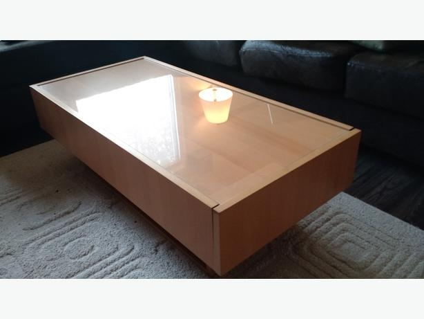 Featured Image of Glass Top Storage Coffee Tables