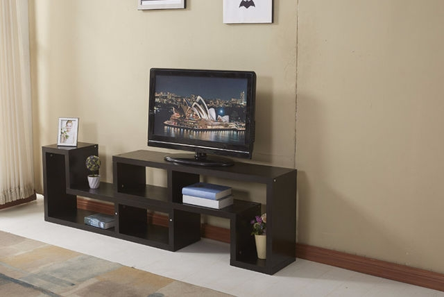 Awesome Variety Of L Shaped TV Cabinets Intended For Ultra Modern L Shaped Double Tv Cabinet 2 Colours (Image 9 of 50)