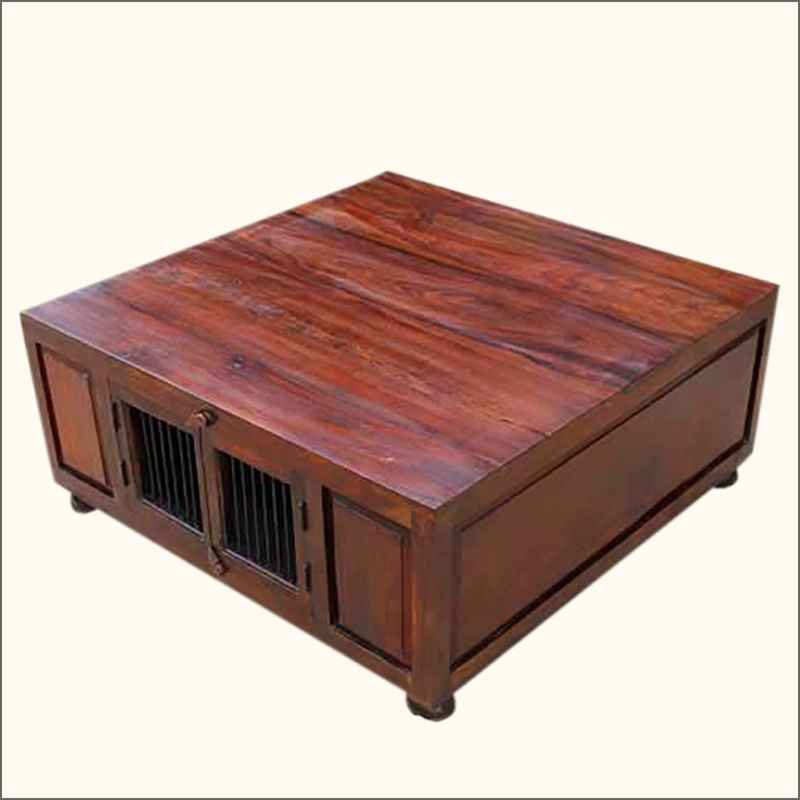 Awesome Variety Of Low Coffee Tables With Drawers Inside Sliding Top Coffee Table With Storage And 8 Drawers Using Metal (Image 10 of 50)