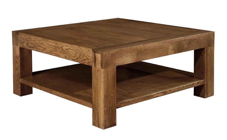 Awesome Variety Of Oak Square Coffee Tables Inside Coffee Table Square Coffee Tables For Salelarge Oak Table With (Image 5 of 50)