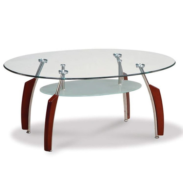 Awesome Variety Of Oval Shaped Glass Coffee Tables Regarding Good Looking Oval Glass Coffee Table (Image 7 of 50)