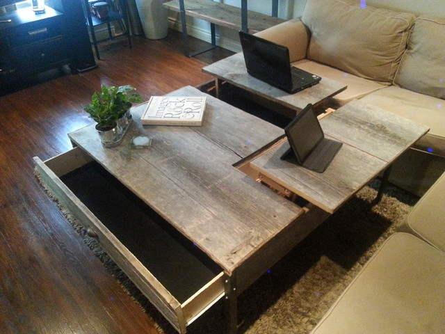 Awesome Variety Of Pop Up Top Coffee Tables  Pertaining To Double Lift Top Coffee Table (Image 6 of 50)