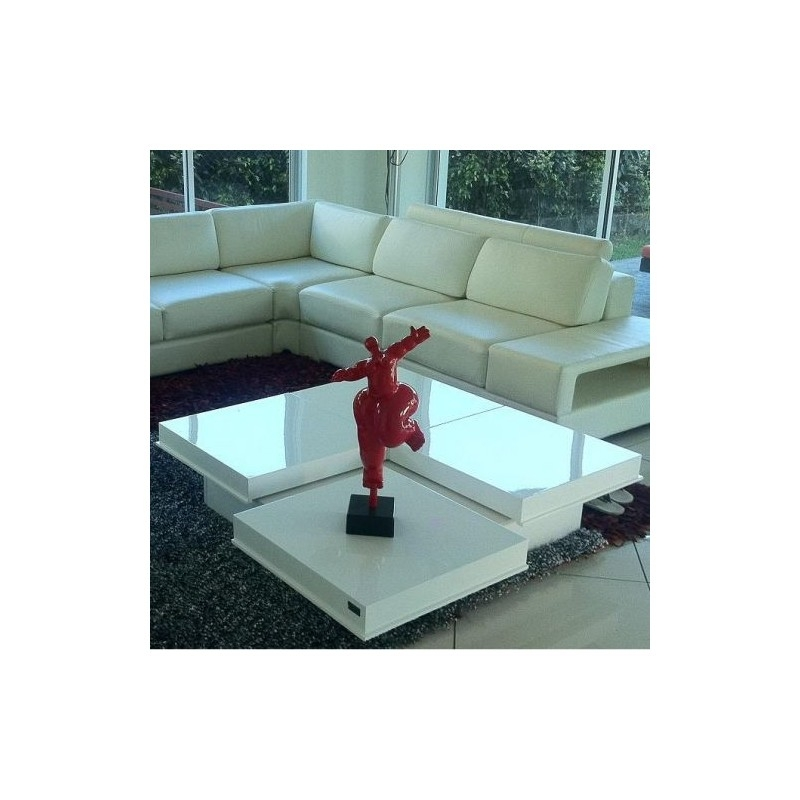 Awesome Variety Of Red Gloss Coffee Tables For Destiny Modern High Gloss White Coffee Table Vig Furniture (Image 5 of 40)