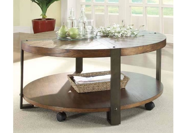 Awesome Wellknown Antique Rustic Coffee Tables Throughout Living Room The Urban Rustic Coffee Tables Live Edge Slab Wood (Image 12 of 50)