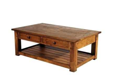 Awesome Well Known Big Square Coffee Tables Throughout Big Wood Coffee Tables Jerichomafjarproject (Image 5 of 50)