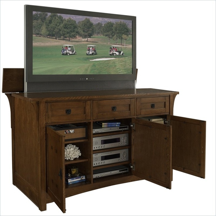 Awesome Well Known Bjs TV Stands Regarding 19 Best White Tv Lift Cabinets Images On Pinterest (Image 10 of 50)
