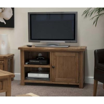 Awesome Well Known Chunky TV Cabinets Intended For Oak Tv Stand Solid Oak Tv Unit Cabinet Furniture Plus (Image 5 of 50)