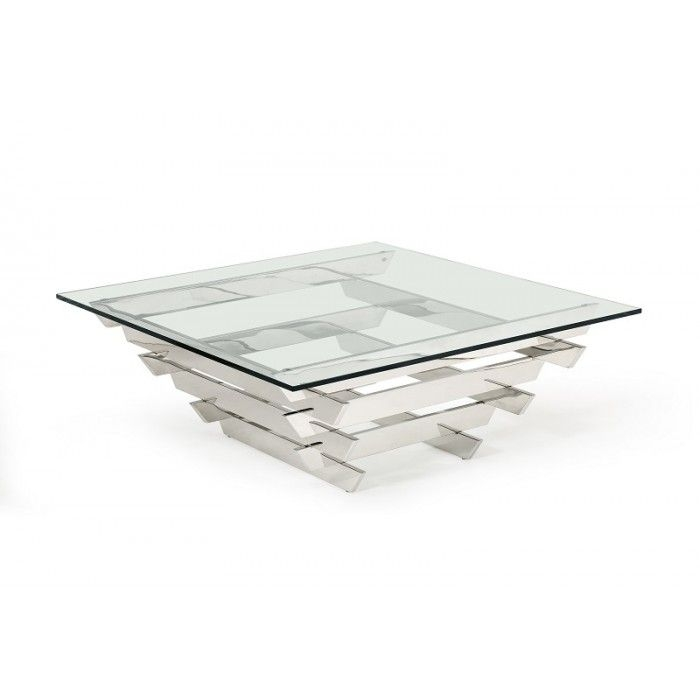 Awesome Wellknown Coffee Tables Glass And Metal Inside Best 25 Square Glass Coffee Table Ideas On Pinterest Wooden (Image 12 of 50)
