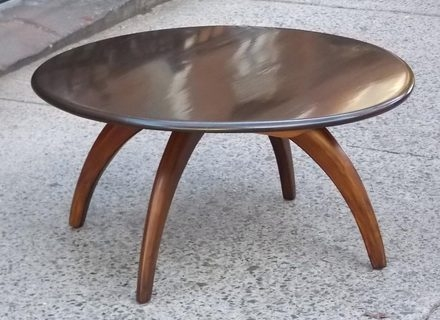 Awesome Wellknown Dark Wood Round Coffee Tables With Regard To Round Dark Wood Coffee Table Jerichomafjarproject (Image 11 of 50)